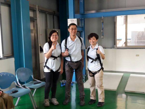 1070907金百利克拉克家族教育訓練-中鋼工安體感訓練場參訪 (2)