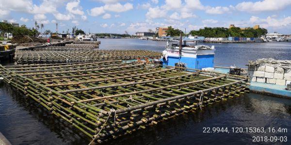 蚵棚整備作業區(二)