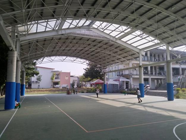 晴天雨天運動不用愁 臺南市將再建置19校半戶外球場
