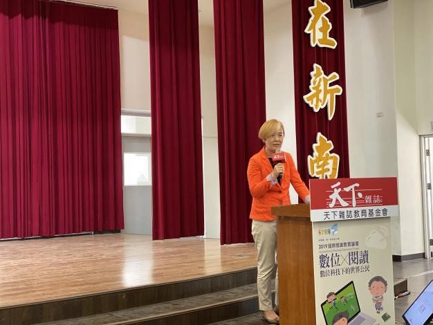 國際閱讀教育論壇台南登場 開啟數位閱讀新視野(共2張)-1