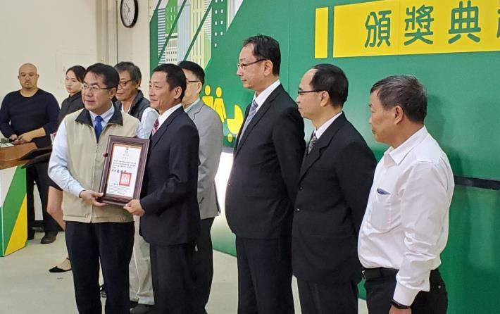 臺南市108年度優良公寓大廈評選揭曉市長親自頒獎嘉勉