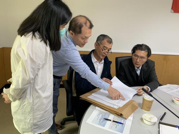 AB圖袋新制成效卓著 吸引新竹縣政府團隊前來取經-文件討