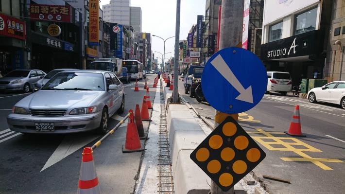 西門路12日起至月底進行路平專案改善工程