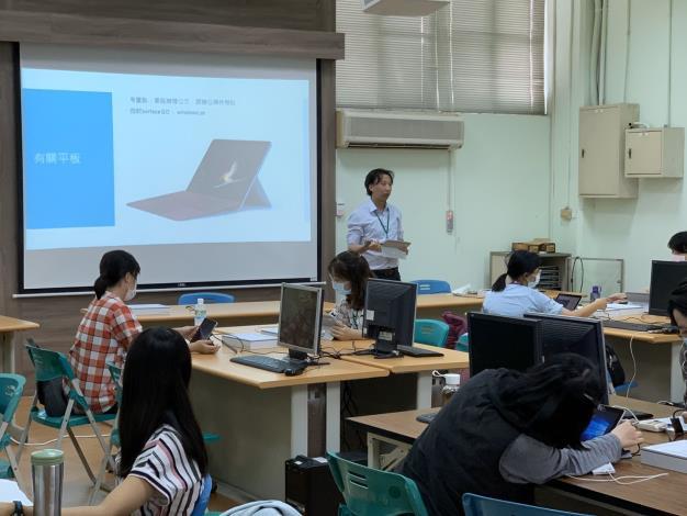 防疫超前部署 臺南市教育局實施異地及居家辦公演練(共2張)-1