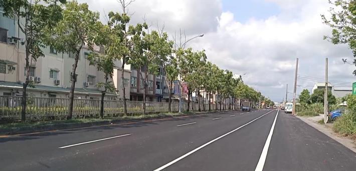永康區大灣東路完成路平改善 民眾有感