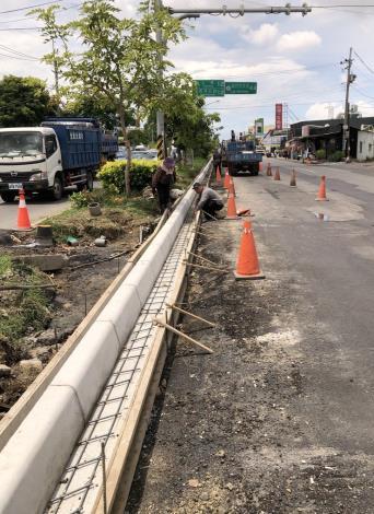 北安路4段輸水幹管換管