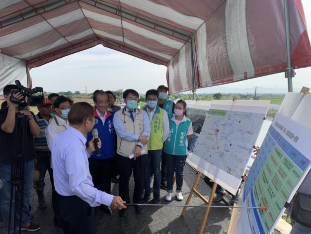 市長重視溪北排水黑橋改建