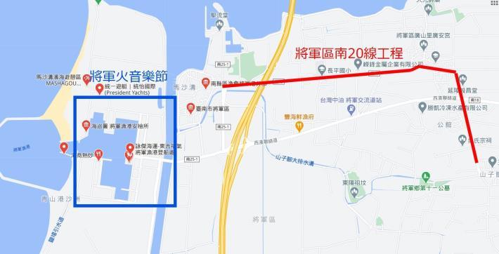 道路線路地圖
