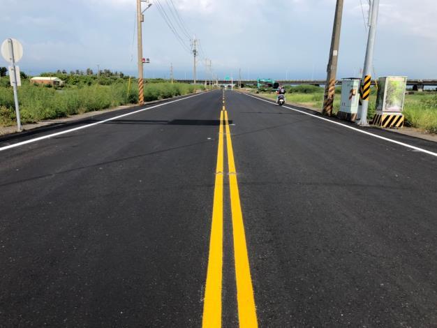 將軍區南20線道路完成路平改善