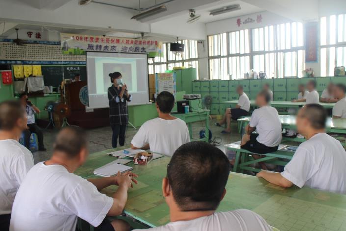 勞工局結合臺南監獄辦理就業促進講座 協助更生人做好就業準備 重返職場(共2張)-1