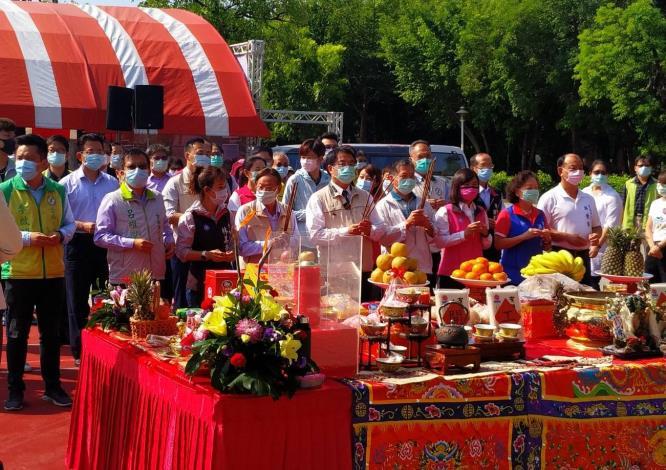 水萍塭地下停車場-儀式