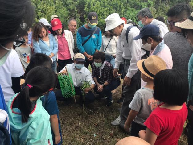 109年老樹節活動照片稙樹說明
