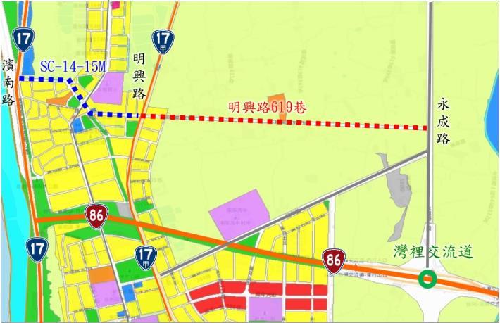 二橫三縱交通便捷網規劃圖