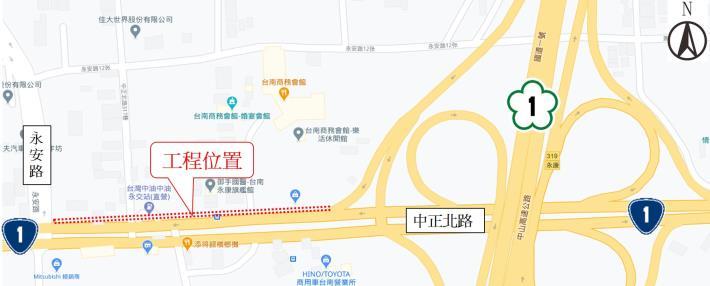 規劃地圖標示區