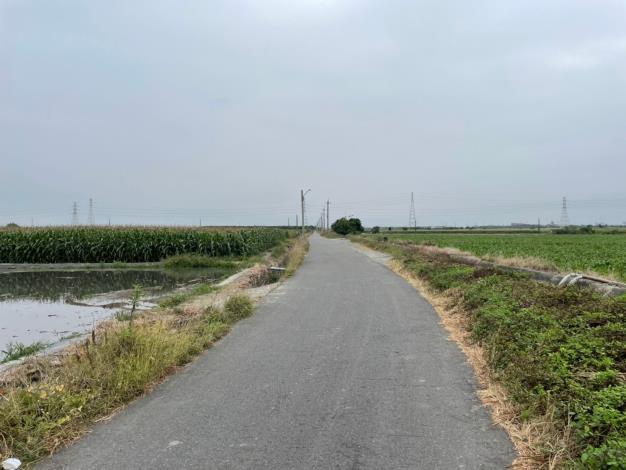 南76線道路目前寬度約3.9公尺