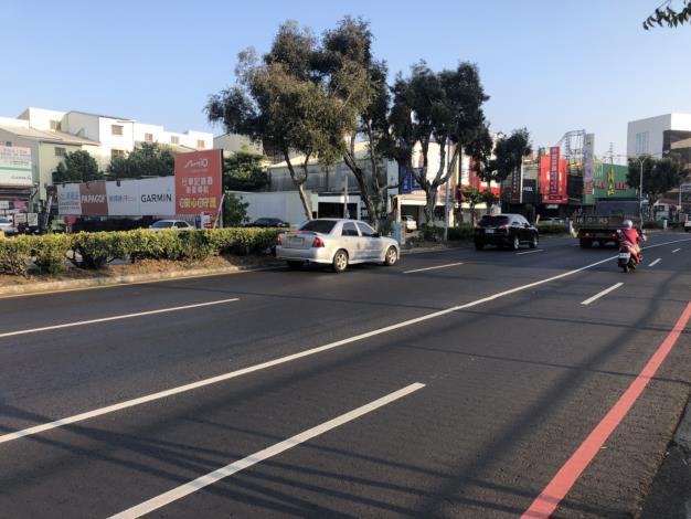 中華西路接近府前路