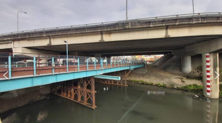 鋼便橋工程順利完成