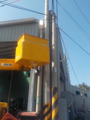 路燈維護搶修