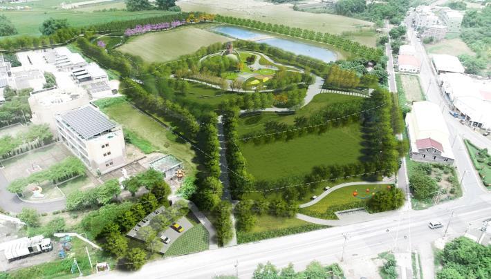 鹽水區公20公園特色遊戲場設計圖