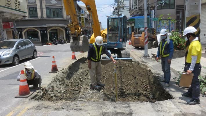 地下管路開挖