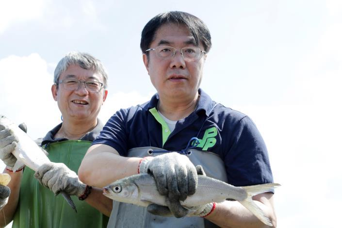 2黃市長推薦臺南虱目魚