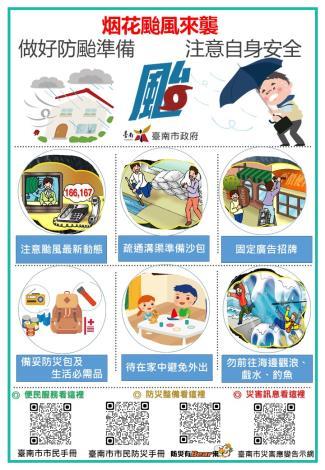 防颱準備圖卡