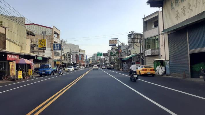 安和路一段路平工程改善完成