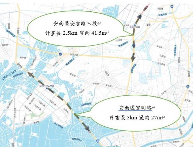 安吉路三段與安明路計劃施工圖