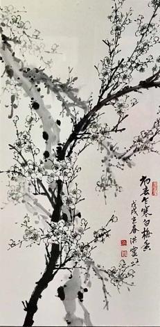 洪靈水墨畫個展-民治市政中心-42
