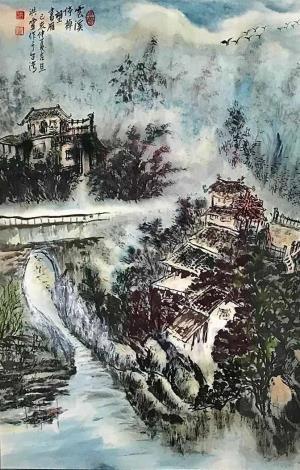 洪靈水墨畫個展-民治市政中心-36