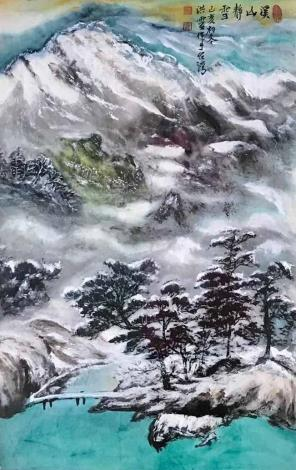 洪靈水墨畫個展-民治市政中心-35