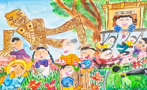 臺南市政府雙市政中心藝文展:第34屆生達盃兒童寫生作品聯展•臺南之美(民治市政中心發布)