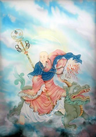 張德怡佛畫師生聯展-16-地藏菩薩