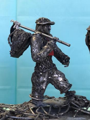 54-林允力鋼雕藝術展