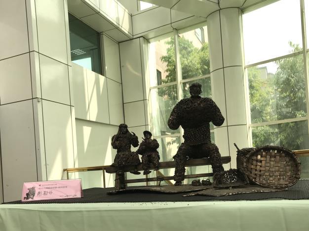 40-林允力鋼雕藝術展