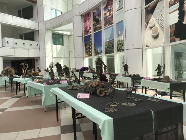 47-林允力鋼雕藝術展