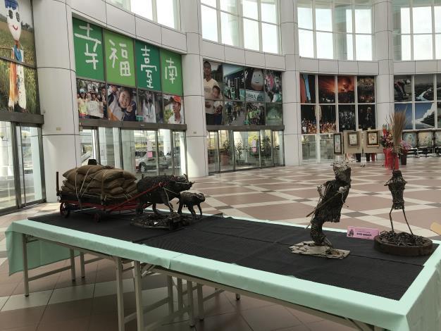 39-林允力鋼雕藝術展