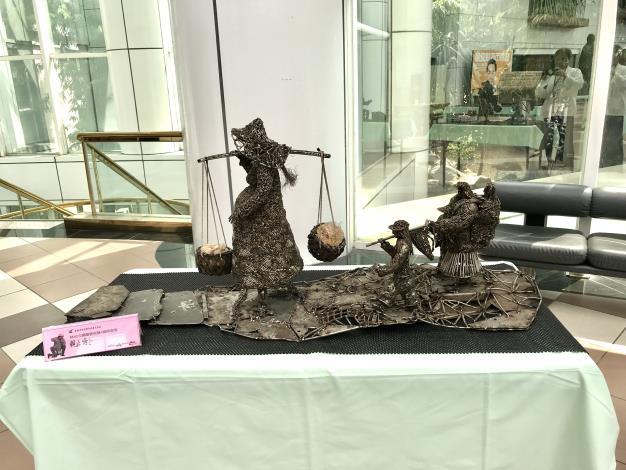 49-林允力鋼雕藝術展