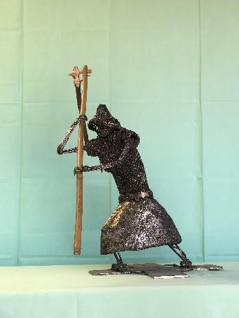 07-林允力鋼雕作品-打連枷