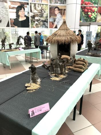 42-林允力鋼雕藝術展