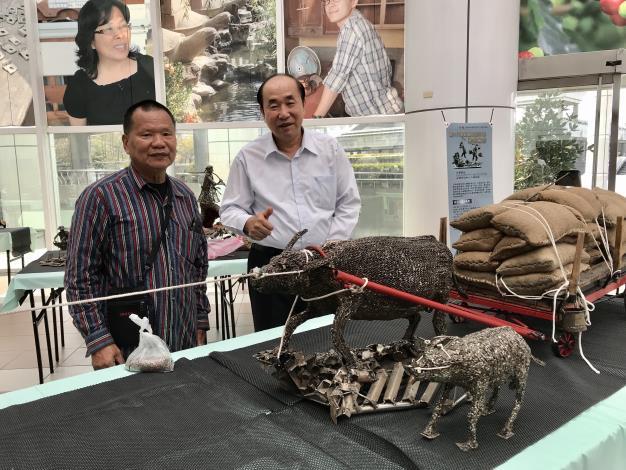 48-林允力鋼雕藝術展