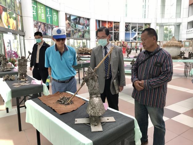 46-林允力鋼雕藝術展