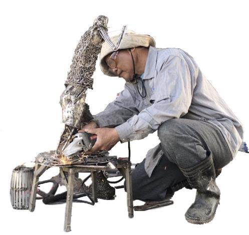56-林允力鋼雕藝術展