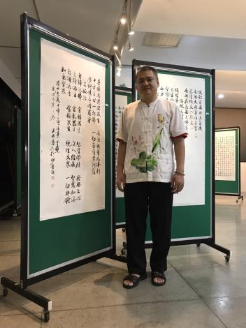 12-吳威慶書法個展