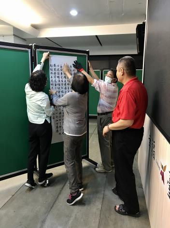 16-吳威慶書法個展