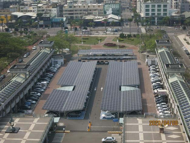 03 南島路外停車場太陽能光電系統俯瞰.JPG