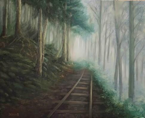 012-吳小芳油畫個展-霧氣森林