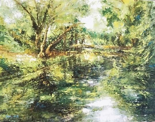 019-吳小芳油畫個展-雲南束河