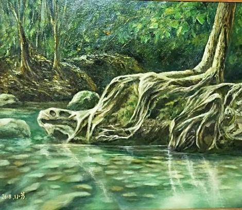 026-吳小芳油畫個展-杉林溪之美