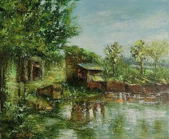 024-吳小芳油畫個展-老塘湖